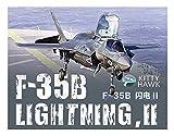 キティホークモデル 1/48 アメリカ空軍 F-35B ライトニング2 Ver. 3.0 戦闘機 プラモデル KITKH80102-B