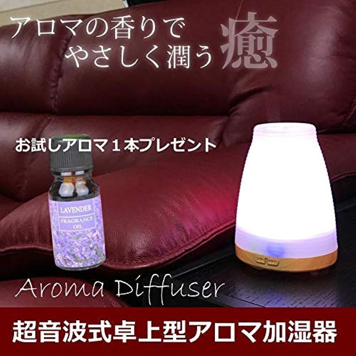 署名洗剤ワゴン超音波 アロマディフューザー アロマ オイル アロマポット アロマランプ ガラス 超音波 アロマオイル アロマ加湿器 加湿器