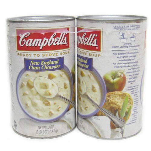 RoomClip商品情報 - Campbell キャンベル クラムチャウダースープ 1.41kg×2缶セット