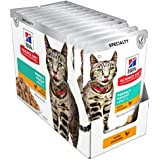 Hill's Science Diet Adult Perfect Weight Chicken Wet Cat Food Pouches, 85g, 12 Pack