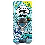クルマの消臭力 クリップタイプ 消臭芳香剤 車用 アクアブルーの香り 3.2ml
