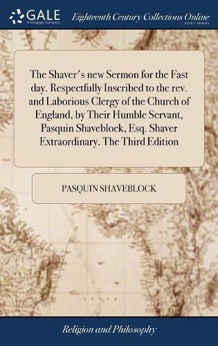 The Shaver's New Sermon for th...