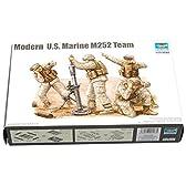 トランペッター 1/35 アメリカ海兵隊M252迫撃砲チーム 00423