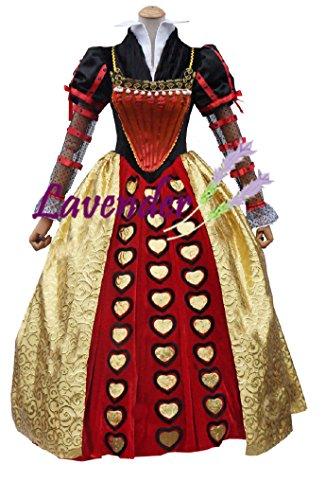 【プロバンスのラベンダー】アリス ハートの女王 パニエ付き コスプレ衣装 イベント 仮装 ハロウイン クリスマス コスチューム 文化祭 オーダーメイド可能