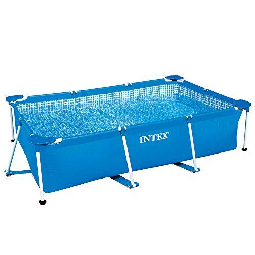 INTEX(インテックス) プール レクタングラフレームプール 260x160x65cm 28271 [日本正規品]