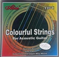 アリス - ウエスタンギター用カラー弦セット407C