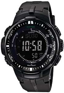 [カシオ]Casio 腕時計 PROTREK プロトレック トリプルセンサーVer.3搭載 世界6局電波対応ソーラーアウトドアウォッチ PRW30001AJF