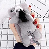 携帯電話ケース iPhoneのケース&カバーのためのファッションぬいぐるみラブリードンキー人形玩具の保護裏表紙場合のiPhone 6プラス&6Sプラス SHYPwM