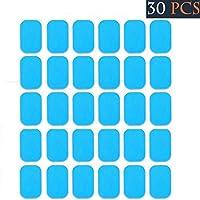 交換パッド EMS 30枚 腹筋ベルト 腕筋 トレーニング ダイエット シェイプ 脂肪燃焼 ジェルシート 互換パッド