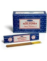 Buycrafty Satya Champa Reiki Power Incense Stick,180 Grams Box (15g x 12 Boxes)