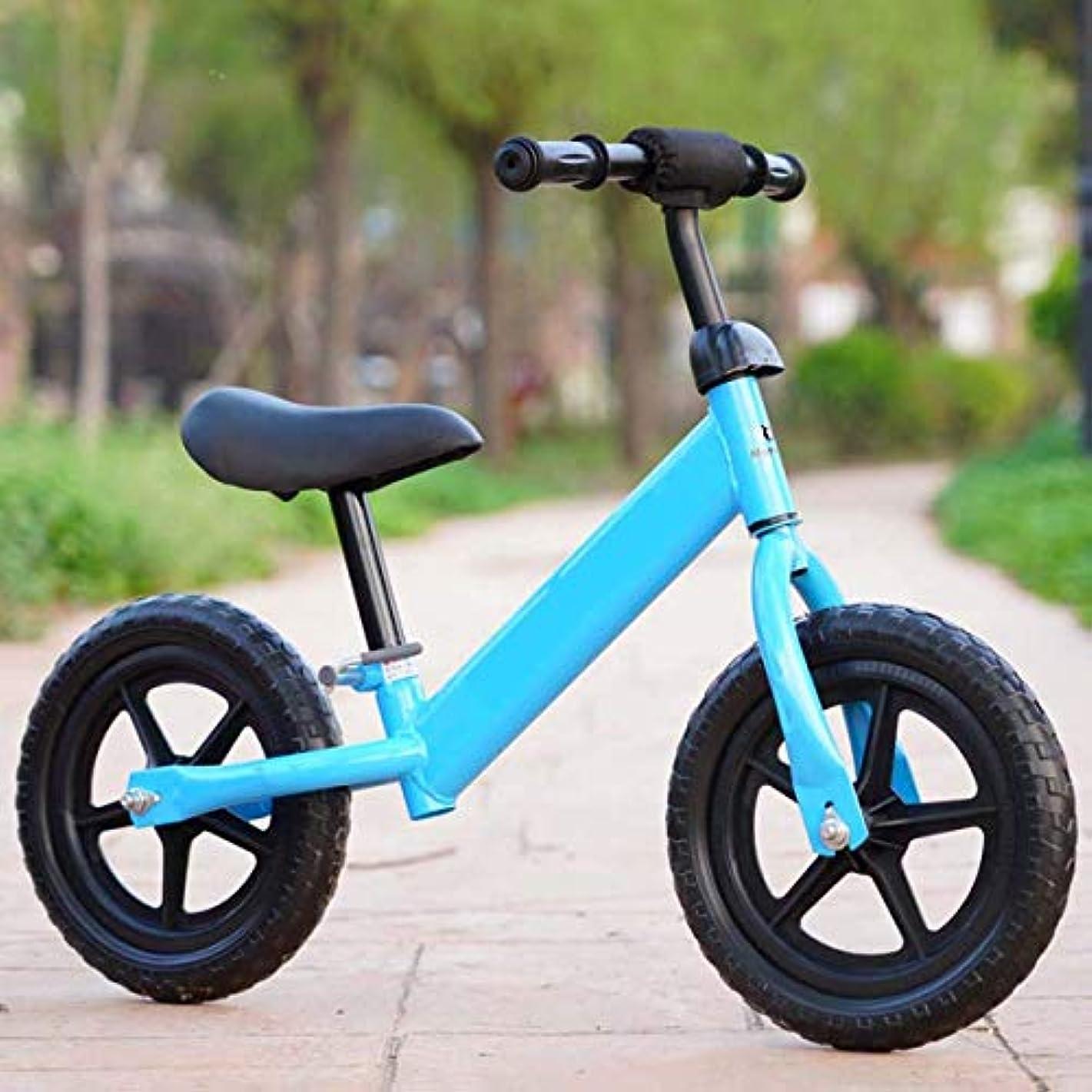 吐き出すクラフト別の12インチスポーツ職業バランスバイク、2?6年の幼児用自転車、キッズバイク、調節可能なサドル、ペダルなしの幼児用自転車