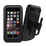 Bleaf® iPhone 7 Plus/iPhone 8 Plus 用 自転車 バイク ホルダー マウント ケース 360度自由に回転 防水 防塵 耐衝撃 (For iPhone 7 Plus/iPhone 8 Plus)