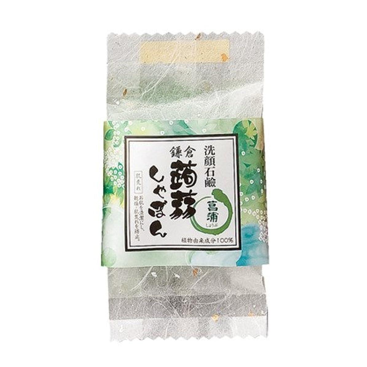 シート住居広げる鎌倉 蒟蒻しゃぼん 菖蒲