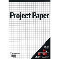 オキナ A4プロジェクト 10ミリ方眼 PPA40S 00005925 【まとめ買い5冊セット】