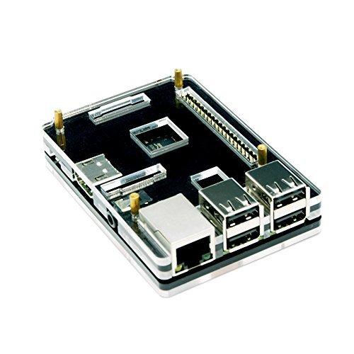 『waves Raspberry Pi 3 Model B 用 ケース 国内発送 黒』のトップ画像