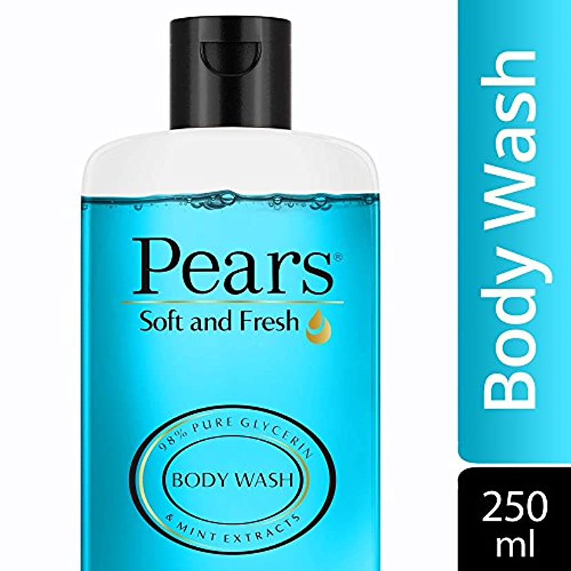 楕円形マトリックスさておきPears Soft and Fresh Shower Gel, 250ml