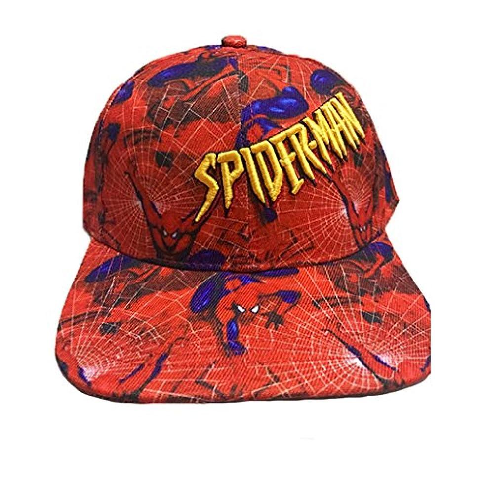 ネズミ思いやり筋肉のHicus スパイダーマン コスプレ 帽子 赤い クール キャップ Hat ズック コスチューム ハロウィン イベント パーティー 変装 仮装 メンズ 日常必要品
