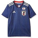 [アディダス] Kidsサッカー日本代表 ホームレプリカユニフォーム半袖 DRN90 ナイトブルー F13/ホワイト (BR3644) 日本 J130-(日本サイズ130 相当)