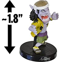 "Arlong ~1.8"" Mini-Figure w/ Stand: One Piece Collection - 10th Anniversary Road to Becoming the King of Pirates Series"