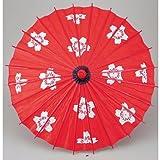 和傘 子供傘 桜赤(装飾用)