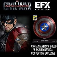 Civil War/キャプテン・アメリカ1/6Scale Prop Replica Captain America Shield 2016Comic Con Limited