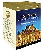 ウィーン国立歌劇場 150周年記念DVDボックス (150 Years Wiener Staatsoper / Great Opera Evenings) [11DVD] [日本語帯・解説付]