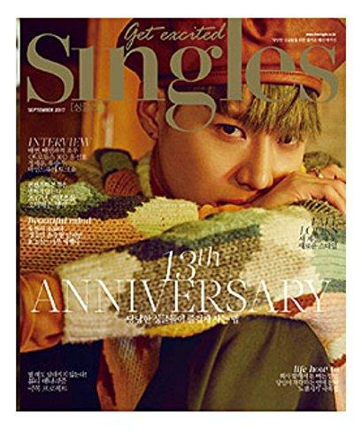 韓国雑誌 Singles(シングルス)2017年 9月号 (...