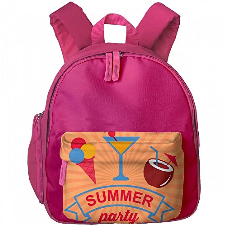 動脈しつけ効果的に色付き 夏 冷たい 飲み物 プリントアイデア デザイン おしゃれ 通気性 子ども 男の子 女の子 キッズ リュック 通学 ショルダーバッグ