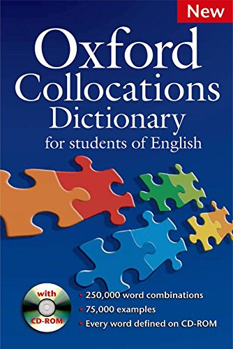 Download Oxford Collocations Dictionary For Students of English (Book & CD) 0194325385