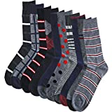 (ハルサク) HARUSAKU カジュアル メンズ 靴下 アウトドア ビジカジ ソックス 25~29 cm セット (25~27cm, 5足組)