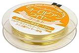 NASKA ジュエリー用ソフトワイヤー ヨーロピアンワイヤー #28 0.3mm Col.G ゴールド 10m K1026