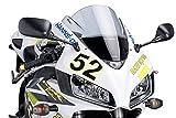 Puig 1665H RACING-SCREEN 【SMOKE】 HONDA CBR1000RR(04-07/BC-SC57専用) プーチ スクリーン カウル オートバイ バイク パーツ