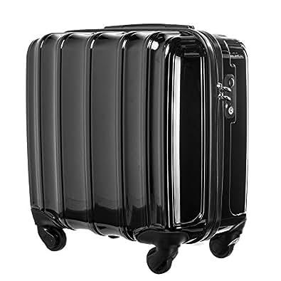 ビジネス スーツケース・TSAロック・小型(1~3泊)・軽量・横型・機内持ち込みTravelhouse (black)