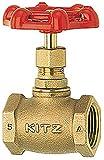 キッツ 青銅製100型グローブバルブ KITZ-A 3/4B [20A]