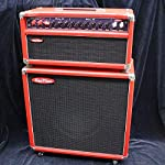 Red Plate/Cosmic Dust Red with 1X12 Cabinet