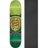 ブラインドスケートボードCody McEntireバッジグリーン/オレンジスケートボードデッキ樹脂7 – 8