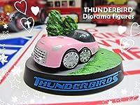 サンダーバード ポリストーン ジオラマ フィギュア FAB1 ピンク インテリア おもちゃ コレクション 2号機