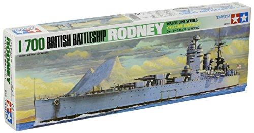 1/700 ウォーターラインシリーズ No.502 1/700 イギリス戦艦 ロドネイ 77502