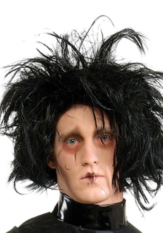極めてタオル少ないEdward Scissorhands Wig シザーハンズ ウィッグ 大人用 ワンサイズ