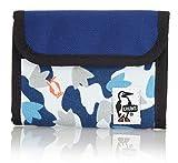 (チャムス) CHUMS Trifold Wallet Sweat Nylon ( トリフォルド ウォレット) CH60-0696 Foot Camo/Navy-Z080