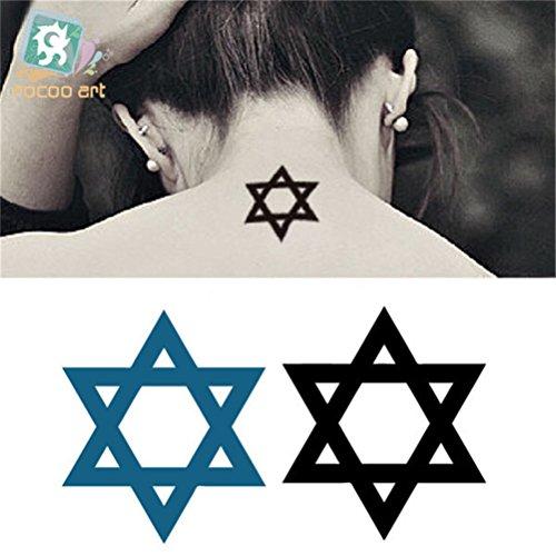 原野 かわいい タトゥーシール 素肌 を 飾る ★ タトゥー シール  5種類/セット