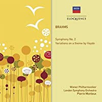 Brahms: Sym 2 Variations on a Theme By Haydn by MONTEUX / VIENNA PHIL ORCH