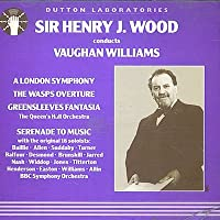 Conducts Vaughan Williams