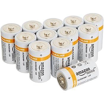 Amazonベーシック 乾電池 単1形 アルカリ 12個セット