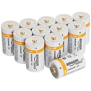 Amazonベーシック 単1型アルカリ乾電池 12個パック