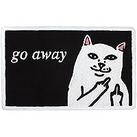 RIPNDIP リップンディップ Go Away Rug ラグ 玄関マット 猫 キャット cat (rnd0641) [並行輸入品]