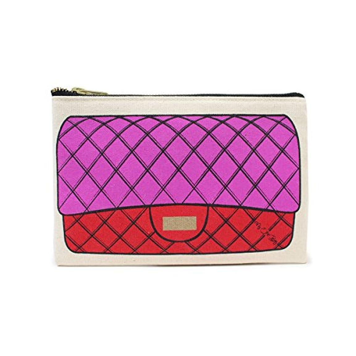 サイクル序文利得(マイアザーバッグ)My Other Bag ポーチ バッグ B04-12 FUSCHIA/RED (並行輸入品)