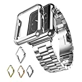 Maxku Apple Watch Series 4/5 ケース 44mm ケース PC メーキ加工 耐衝撃性 脱着簡単 超薄 アップル ウォッチ シリーズ4/5 44mm カバー 4色選択可能 (シルバー)