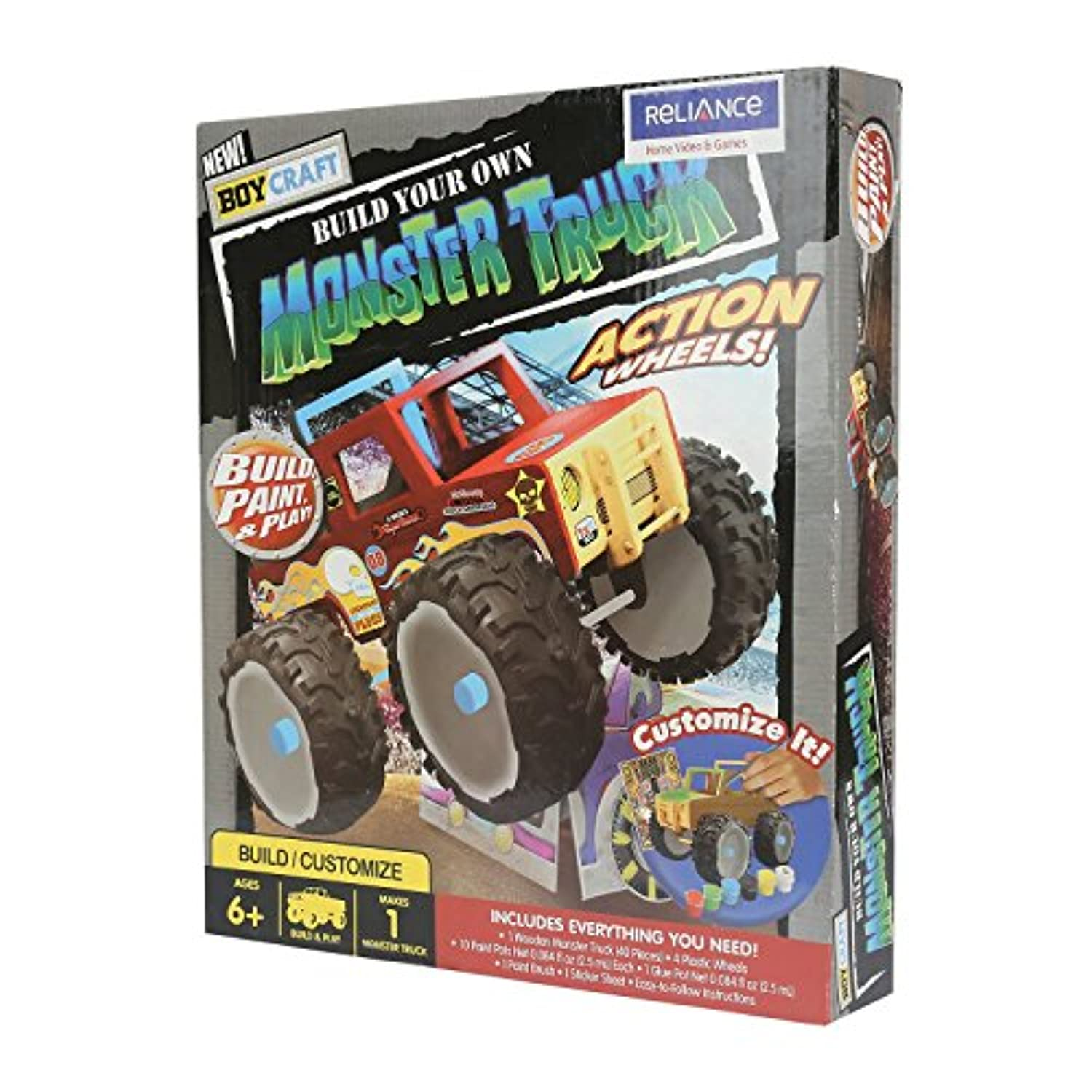 Boy Craft Make Your Own Monster Truck [並行輸入品]