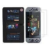 Nuglas【 2枚セット Nintendo Switch対応】ニンテンドー スイッチ 専用保護フィルム 高透過率 指紋防止 気泡防止